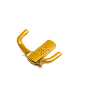 Крючок-вешалка со скрытым креплением КВС-2 (зол.металлик)