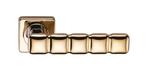 Ручки на квадратной накладкке SILLUR C202 P.GOLD