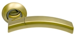 Ручки на круглой накладке SILLUR 132 S.GOLD/P.GOLD