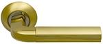 Ручки на круглой накладке SILLUR 96 S.GOLD/P.GOLD