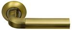 Ручки на круглой накладке SILLUR 96 S.GOLD/BR