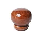 "Ручка-кнопка шар"" бук тонир. ""кр. дерево"" глянец №7"""